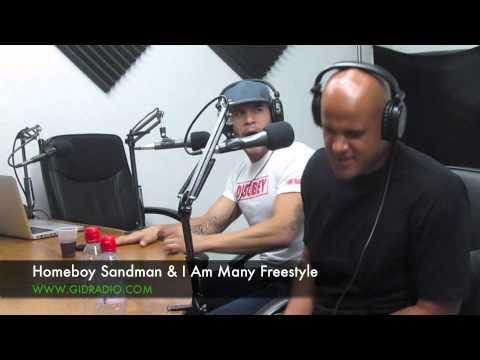 Homeboy Sandman and I Am Many Freestyle On The Bodega Cold Kutz Show