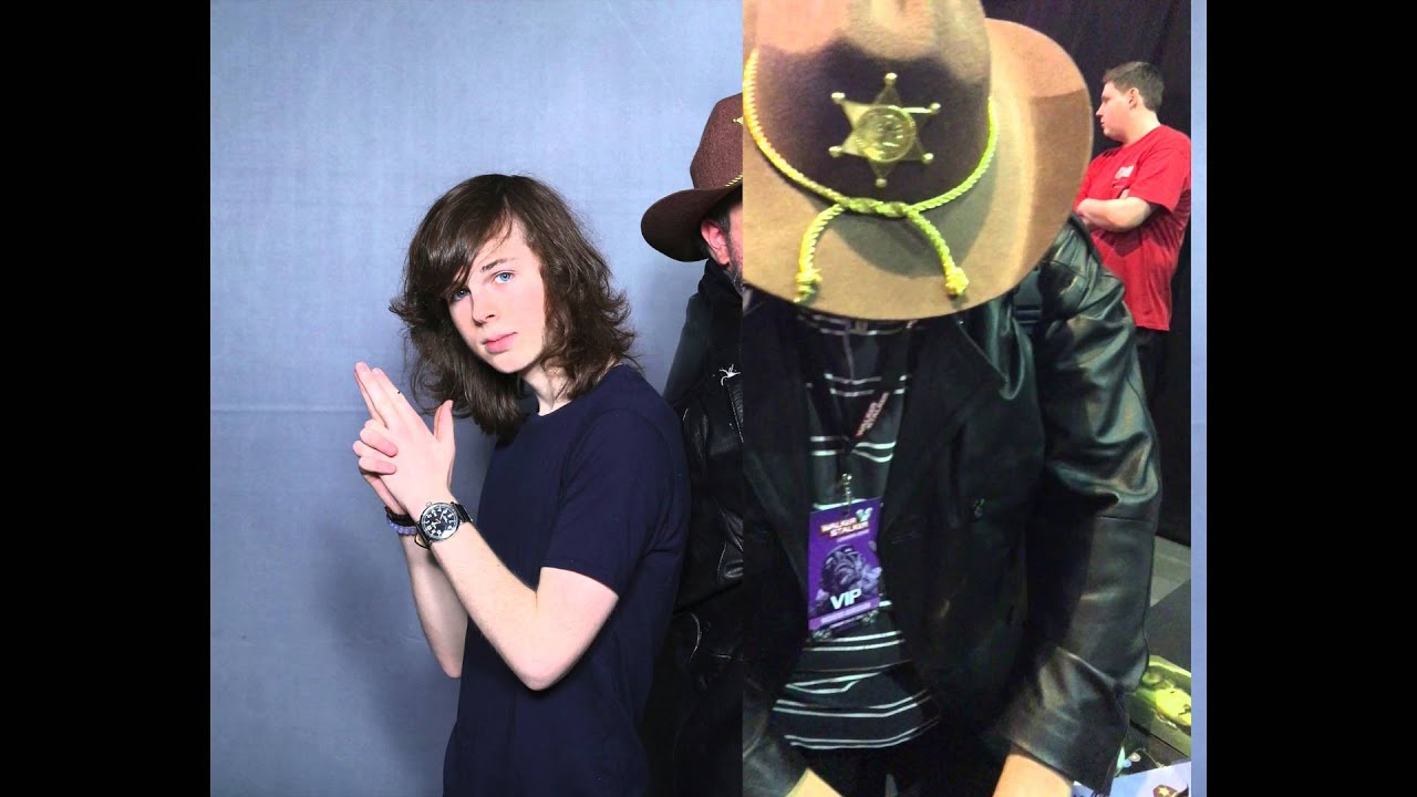 Meeting chandler riggs at wsc london 2016 youtube m4hsunfo
