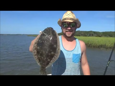 Red, Whiting And Bluefish. St Augustine Fishing Trip FULL VERSION