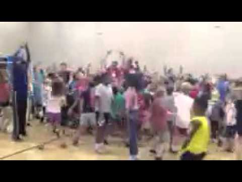 UNLV football does Harlem Shake with Boys and Girls Club