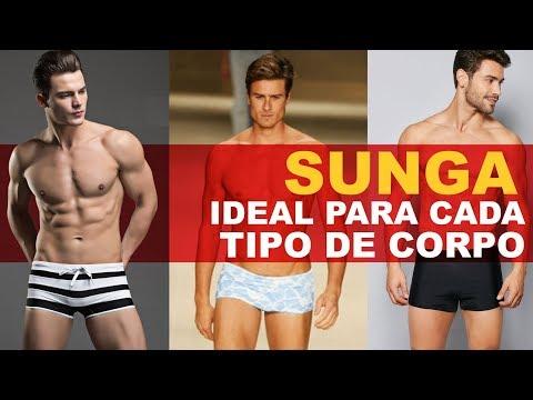 6810f832bc2a5c SUNGA IDEAL PARA CADA TIPO DE CORPO - YouTube