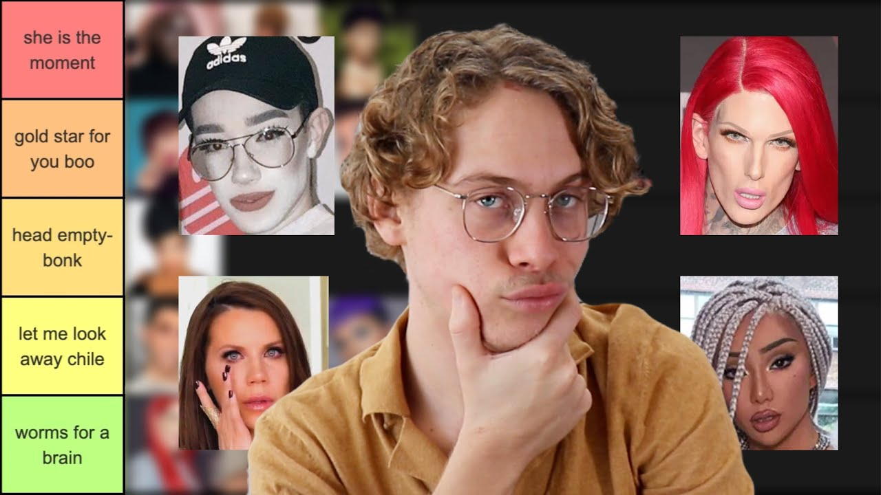 Ranking Beauty Gurus From Best To Worst Based On Their Scandals