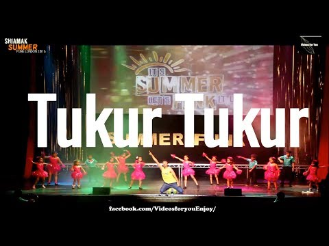Tukur Tukur   Dilwale songs   Shiamak    dance   tukur tukur full song  lyrics   moves  bollywood
