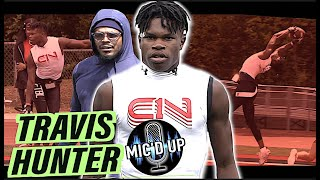 Mic'd Up | 5-STAR Travis Hunter GOES CRAZY 🔥 The #1 Two-Way Player in the Nation | Atlanta, GA