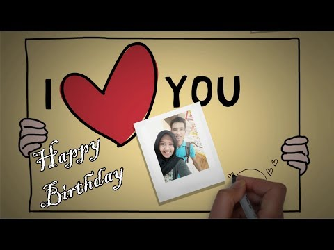 Special Gift for Special People Lifestyle - Sparkol VideoScribe Birthday (Happy Birthday Sweetie)