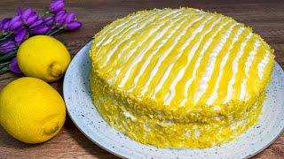 САМЫЙ ВКУСНЫЙ ТОРТ ЭТОГО ГОДА Нежный Лимонный Торт