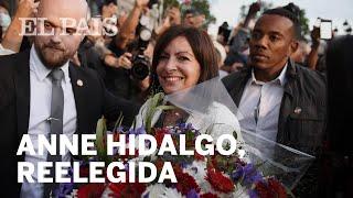 Anne Hidalgo, Reelegida Alcaldesa De París