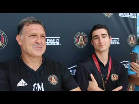 Tata Martino Speaks to the Media
