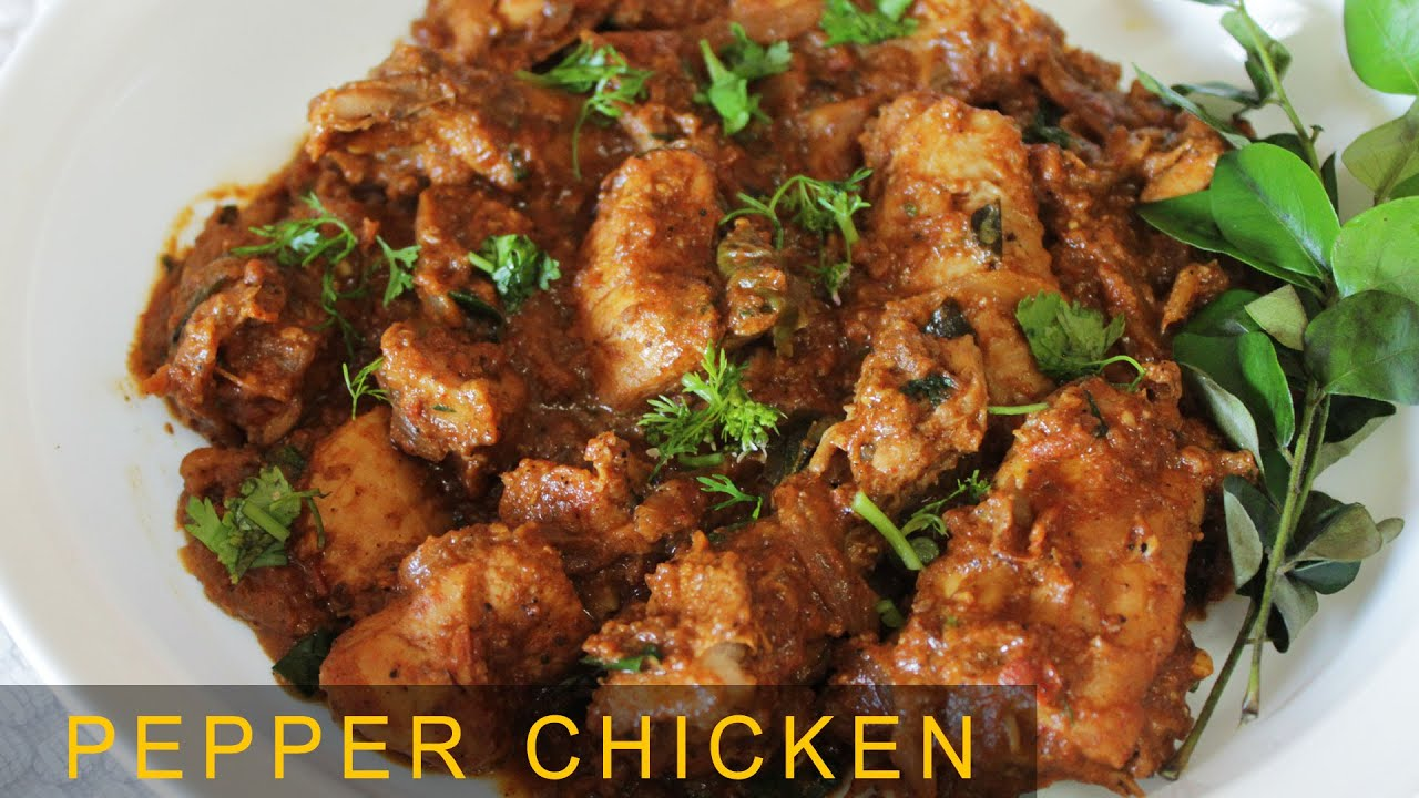 Pepper chicken dry tasty spicy non veg recipe indian chicken pepper chicken dry tasty spicy non veg recipe indian chicken recipes kanaks kitchen forumfinder Image collections