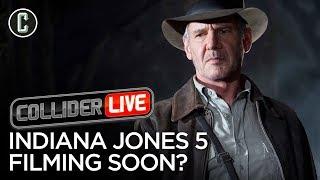 Harrison Ford Says Indiana Jones 5 Starts Filming Next Week! - Collider Live #147