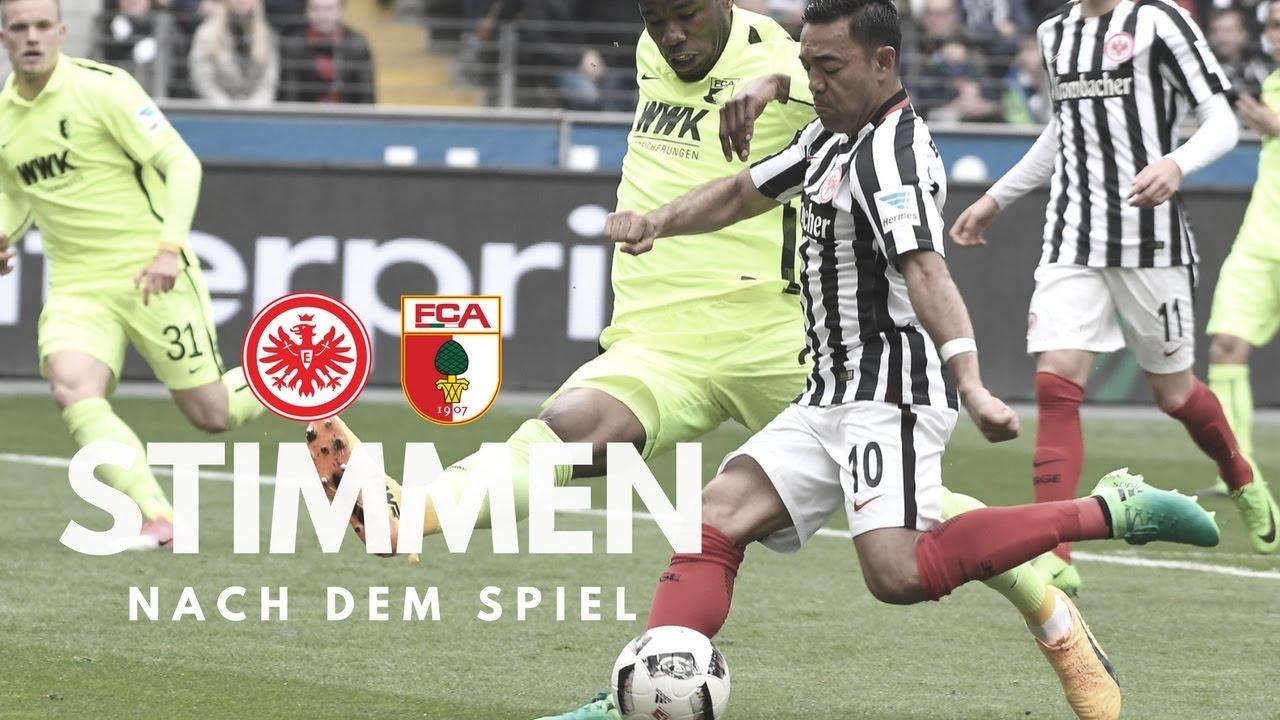 Eintracht vs. FC Augsburg | Stimmen nach dem Spiel