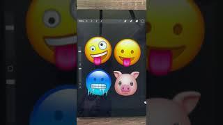 Realistic Emoji Edits Wipe it Down Challenge 2 #shorts