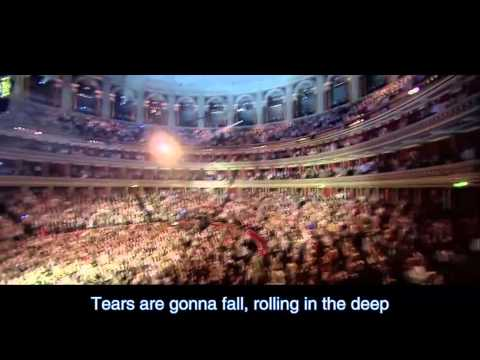 Someone like you & Rolling in the deep By Adele Live at the Royal Albert Hall 2011