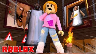Roblox Granny's House With Molly And Daisy!