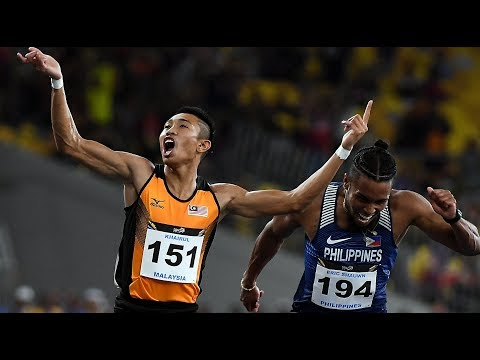 KL SEA Games: New sprint king of Southeast Asia