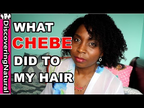 CHEBE POWDER for Hair | Before and After