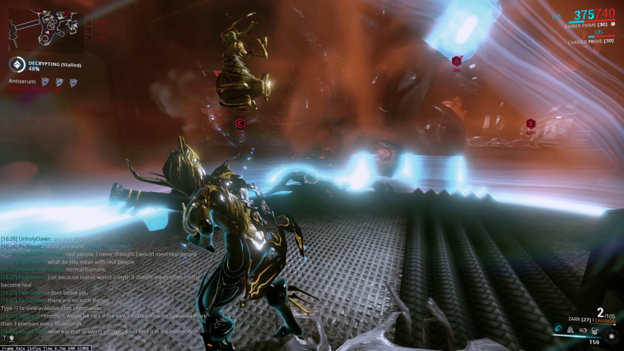 warframe how to get salvage