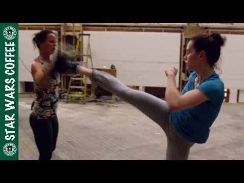 Download Youtube: Daisy Ridley and John Boyega Training for Rey and Finn