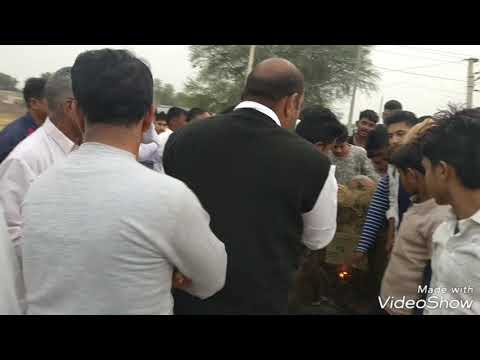 राजपुताना रविन्द्र फौजी,के क्षेत्र गांव कैरोडी ,राजनौता में जलाया भंसाली का पुतला और फिल्म पद्मावती,