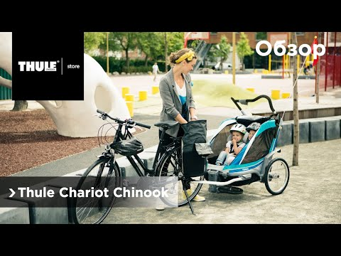 Детский велоприцеп Thule Chariot Chinook. Обзор Михаила Гринёва Fancy Trip