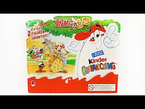 АСТЕРИКСУ 50 ЛЕТ! Раритетный набор Киндер Сюрприз 2009 года! Rare Kinder Surprise eggs unboxing #31