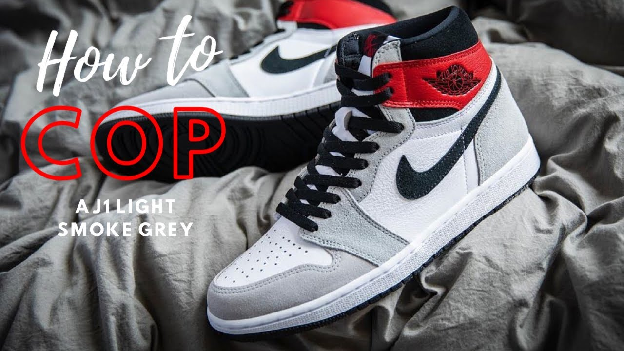 HOW To COP Air Jordan 1 Light Smoke Grey | Sites & Raffle List!