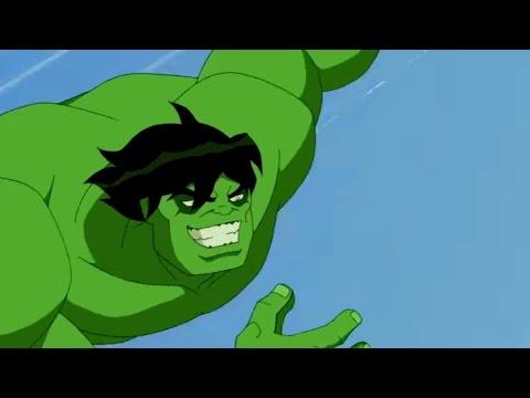 Мстители: Величайшие герои Земли | Все серии подряд сборник мультфильма Marvel. Сезон 1 серии 1-4