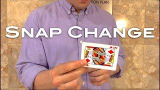 Snap Change - a card magic trick from Shir Soul Magic