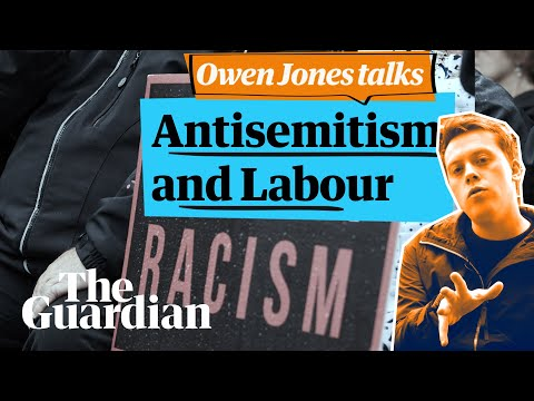 Fighting smears and the antisemitic minority in the Labour party    Owen jones talks