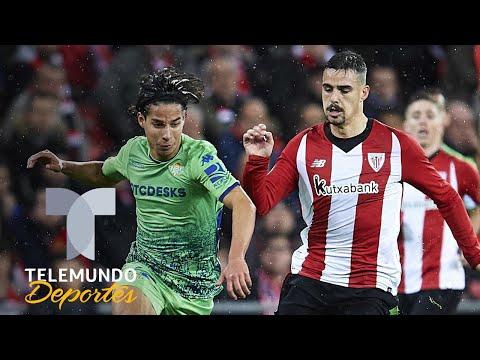 Diego Lainez casi marca un golazo con el Betis en su debut como titular | Telemundo Deportes