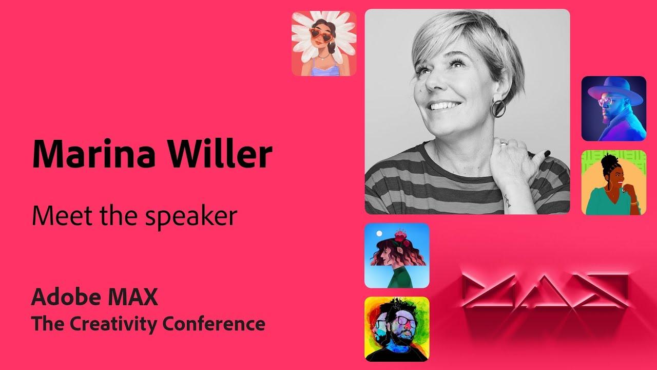 Meet the MAX Speaker: Marina Willer from Pentagram | Adobe Live