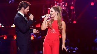 Carlos Baute y Soraya Arnelas son Michael Bublé y Ariana Grande con 'Santa Claus is coming to town'