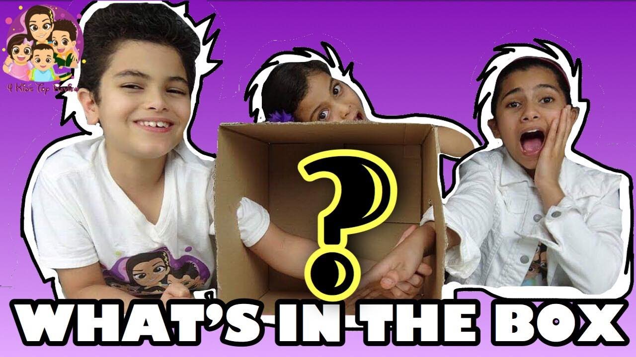What S In The Box Challenge Kid Friendly Challenges For