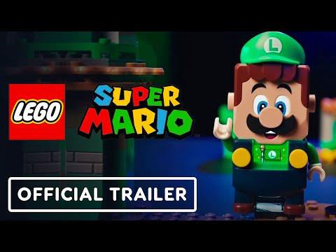 LEGO Super Mario Adventures - Official Luigi Starter Course Trailer