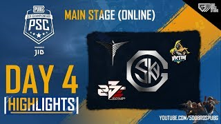 HIGHLIGHTS DAY 4 | MAIN STAGE #PSC | PUBG SEA CHAMPIONSHIP 2019