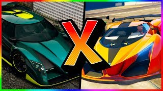 GTA V Online: OVERFLOD AUTARCH Vs. X80 PROTO! l SPEED TEST