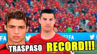 ¿150 MILLONES POR RONALDO? MI DEBUT CON EL MANCHESTER UNITED!!!! | FIFA 17
