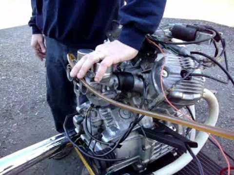 1982 Honda GL500 Silver Wing Engine & Carburetor Rebuild