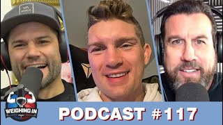 WEIGHING IN #117 with STEPHEN THOMPSON | USMAN V BURNS | KHABIB V GSP | FAN QUESTIONS