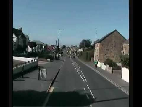 FTI Buscam - Henver Rd to Newquay town.