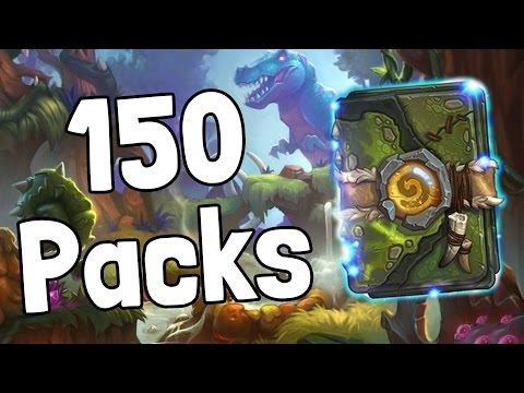 Opening 150 Un'Goro Packs - Hearthstone