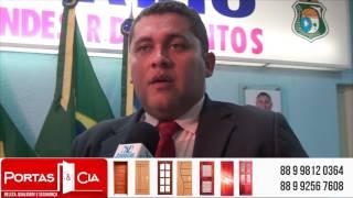 Samuel Isidoro fala da implantação do SAAE e cobra a reabertura do Banco do Brasil
