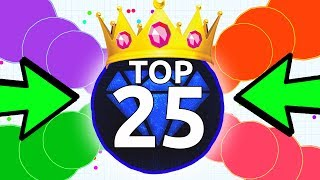 AGAR.IO TOP 25 BEST TRICKS OF THE MONTH NOVEMBER! YOUR AGARIO CLIPS!