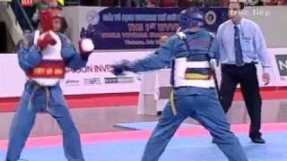 the 1st wvvf world vovinam championship 2009 fighting 64 68 kg vietnam vs iran