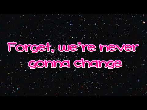 Avril Lavigne - Here's To Never Growing Up -Lyrics on screen