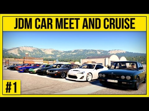 Forza Horizon 2 – JDM Car Meet Cruise, Drift and Drag #1