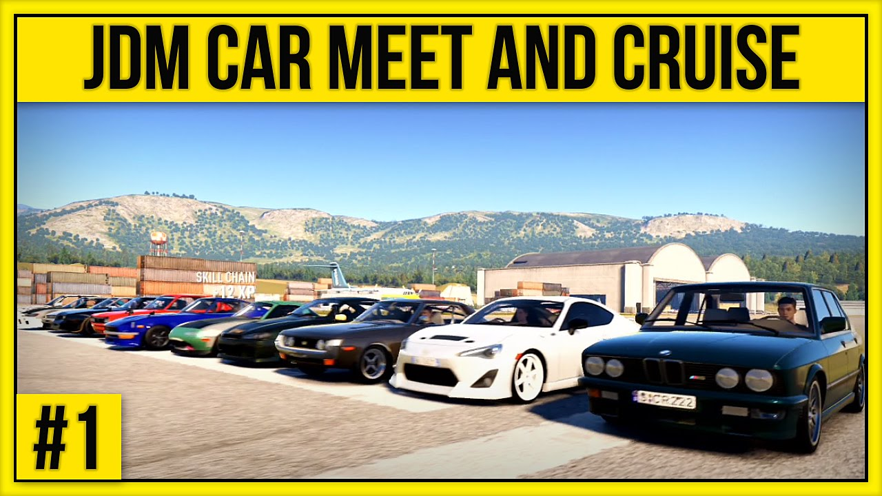 Forza Horizon 2 - JDM Car Meet Cruise, Drift and Drag #1 ...