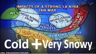 The North East May Have a Cold And Snowy Winter If A La Nina Develops