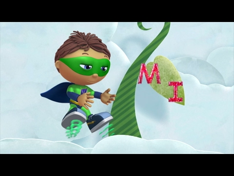 Super Why 104 - Jack and the Beanstalk   HD   Full Episode