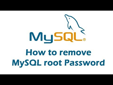 how-to-remove-mysql-root-password